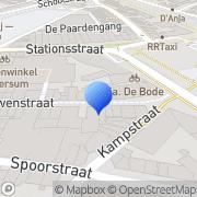 Kaart De Hilversumse Boekhandel Hilversum, Nederland