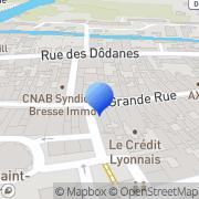 Carte de B.P.F.C.M.A. - Banque Populaire de Franche-Comté du Maconnais et de l'Ain Louhans, France