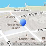Kaart Bruna Zaltbommel, Nederland