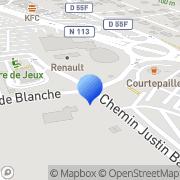 Carte de Cadsud Informatique S.A.R.L. Vitrolles, France