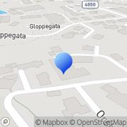 Map Dybdahl Betong & Riveservice AS Haugesund, Norway