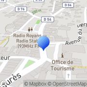 Carte de Cimer S.A. Saint-Jean-en-Royans, France