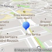 Carte de Delta Circuits Imprimés S.A.R.L. Marseille, France