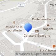 Carte de C.R.I.T.T. - Centre Régional d'Innovation et de Transfert de Technologie Nogent, France