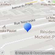 Carte de Clidep Marseille, France