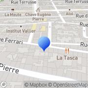 Carte de Caractère Marseille, France