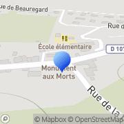 Carte de Dumona France S.A. Arandon, France