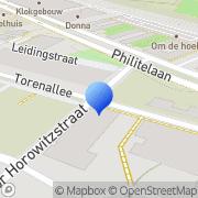Kaart Venderion Eindhoven, Nederland