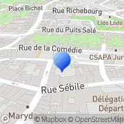Carte de C.C.I. du Jura - Chambre de Commerce et d'Industrie du Jura Lons-le-Saunier, France