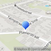 Kaart Nicolle Haarmode Mariahout, Nederland