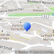 Carte de Guérimand Voiron S.N.C. Aubagne, France