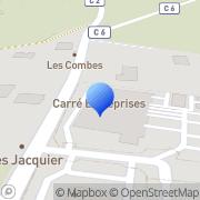 Carte de E.T.D.E. S.A. - Entreprise de Transport et Distribution d'Energies Perrigny, France
