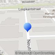 Kaart Dobbelsteen Communicatie & Design Uden, Nederland