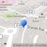Carte de Faure Tourisme S.A. Belley, France