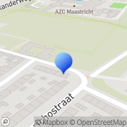 Kaart RKVCL Voetbalvereniging Maastricht, Nederland