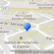Carte de Getronics Decan S.A. Échirolles, France