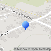 Kaart Bertine Kapsalon Kleine Meers, Nederland