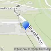 Kaart Steigerbouwbedrijf en Schildersbedrijf Bert Smoorenburg Geulle, Nederland