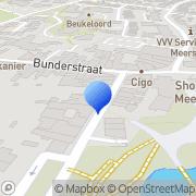 Kaart Kengen J Meerssen, Nederland