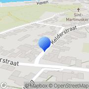 Kaart Feestburo Hèt Stein, Nederland
