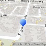 Kaart Fakkel Evangelische Boekhandel De Leeuwarden, Nederland