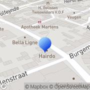 Map Haarstudio Hairdo Marc Klinkers Kotem, Belgium