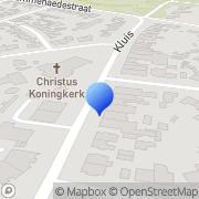 Kaart Beekhuijzen Kapsalon W G Geleen, Nederland