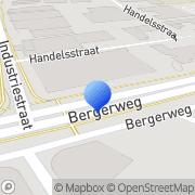 Kaart Tricotop International BV Sittard, Nederland