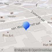 Kaart Feeks Boekhandel De Nijmegen, Nederland