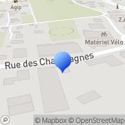Carte de Etablissements Chavanel S.A. La Motte-Servolex, France
