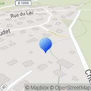 Carte de Aquazur S.A. Crolles, France