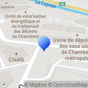 Carte de Elyo Centre Est Méditerranée Chambéry, France