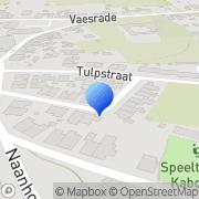 Kaart Teerds Montage- en Timmerbedrijf Nuth, Nederland