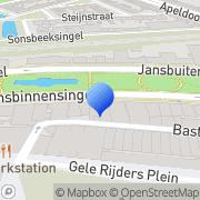 Kaart Kapsalon Fuente Hair Experience Arnhem, Nederland