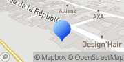 Carte de Amplifon Champagnole, France