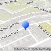 Kaart Frabe Onderdelen Centrum Hoensbroek, Nederland