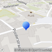 Kaart PLANET GSM Hoensbroek, Nederland
