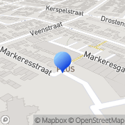 Kaart Schutte Kantoorboekhandel IJsselmuiden, Nederland
