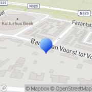 Karte Flex Haarmode Kappersdienst Zyfflich, Deutschland