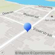 Kaart Harmonie Zalencentrum De Linne, Nederland