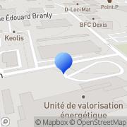 Carte de Elyo S.A. Besançon, France