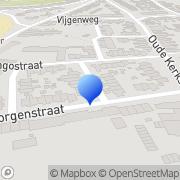 Kaart Quaedvlieg Gordijnatelier Heerlen, Nederland