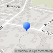 Kaart Heuts Frans Kitvoegbedrijf Schinveld, Nederland