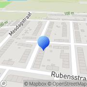 Kaart Hapotel Heerlen, Nederland