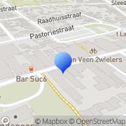 Kaart Zwikstra Plantage Boekhandel Wolvega, Nederland