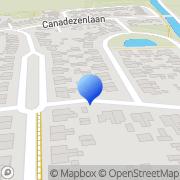 Kaart Van der Kooi Tandheelkunde Dokkum, Nederland