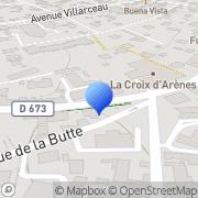 Carte de Direction Régionale du Commerce Extérieur Besançon, France