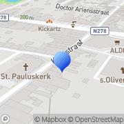 Kaart Irc BV Vaals, Nederland
