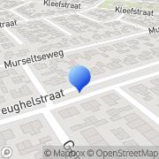 Karte Rob Dames- en Herenkapsalon Hülmerheide, Deutschland