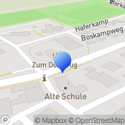 Karte Landhaus zum Dorfkrug Kranenburg, Deutschland